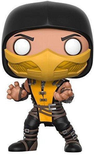 Funko 21685 Games Actionfigur Mortal Combat: Scorpion mit Chase, Multi