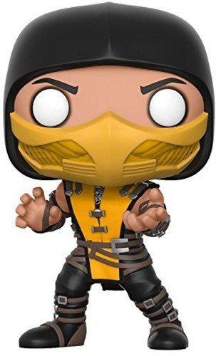 Funko- Figurines Pop Vinyle: Games: Mortal Kombat: Scorpion,