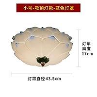 2020 Latest Design 光の周りの花のロビー天井のクリエイティブ新しいロータス中国の古典のホテルの部屋のバルコニーの天井,F