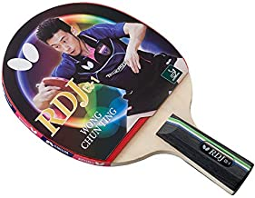 Butterfly RDJ CS1 Ping Pong Paddle – ITTF Approved Ping Pong Racket – Chinese Penhold Table Tennis Racket – Short Handle Ping Pong Paddle