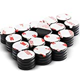 DIYMAG Ceramic Disc Magnets 68 Packs with Double-Sided Adhesive, Ceramic Industrial Magnets. Perfect for Fridge, DIY, Building, Scientific, Craft, and Office Magnets