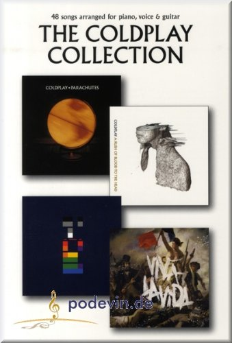 The Coldplay Collection–Partitions, Livre Piano, Chant Guitare & [Partition]