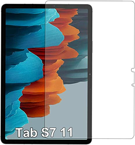 TECHSHIELD Tablet Tempered Glass Screen Protector Compatible with Samsung Galaxy Tab S7 (Sm-T870/875)(Pack of 1)