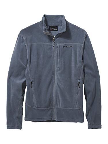 Marmot Reactor 2.0 Jacket Veste Polaire, Veste d'extérieur à Fermeture éclair sur Toute la Longueur, Respirante, résistante au Vent Homme Steel Onyx FR: S (Taille Fabricant: S)