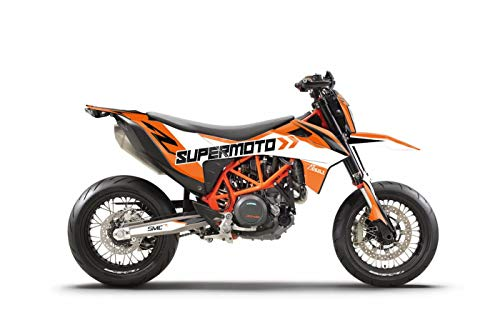 ARider Dekor für KTM 690 SMC-R 2019-2021 Supermoto Edition (Orange)