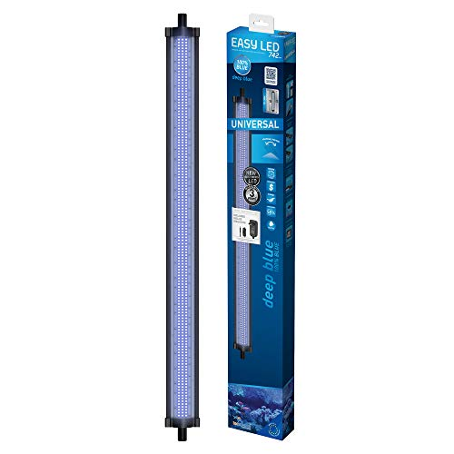 TECATLANTIS Système d'Éclairage Easy LED Universal Deep Blue pour Eau de Mer 742 mm 36 W