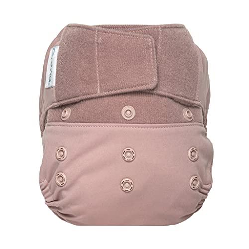 GroVia Reusable Hybrid Baby Cloth Diaper Hook & Loop Shell (Opal)