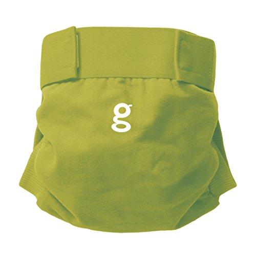 Gnappies Guppy Green grün weiche Baumwolle gPants Windelhose, Große XL
