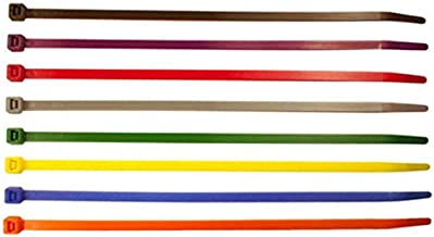 Nylon Cable Ties Size 100mm x 2.5mm (TR1) - Unique Colours (Yellow)