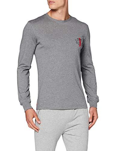 Diesel Umlt-Diego LS Camiseta, 96x/0layy, S para Hombre