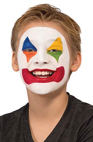 Rubie's Costume Clown Makeup Kit, White, One Size