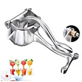 BLENDER RDJSHOP Metalltrichter Manual Lemon Squeezer - Heavy Duty - Saftpresse Single Press Hand...