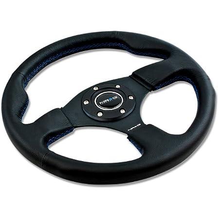 Blue Thumbrest RST-001BL NRG Steering Wheel+Horn+Triangle Blind Spot Mirror