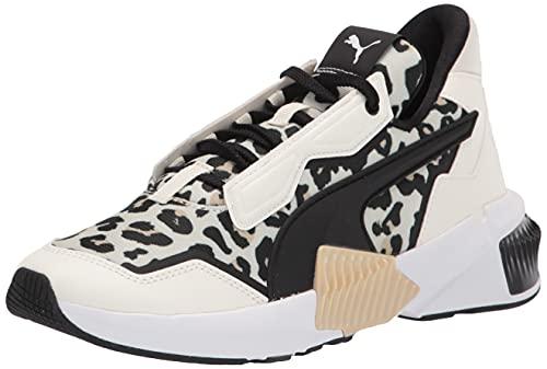 PUMA Women's Provoke XT Cross Trainer Sneaker, Marshmallow Black, 9