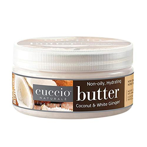 Cuccio Cuccio Beurre naturel, noix de coco et gingembre blanc 226 g