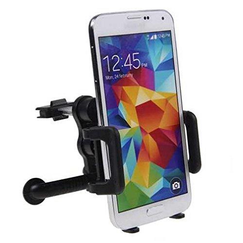 Car Mount AC Air Vent Phone Holder Rotating Cradle Swivel Dock for BLU Vivo 5R - Huawei Google Nexus 6P - Huawei Mate 9 - Huawei P10 - Huawei P9