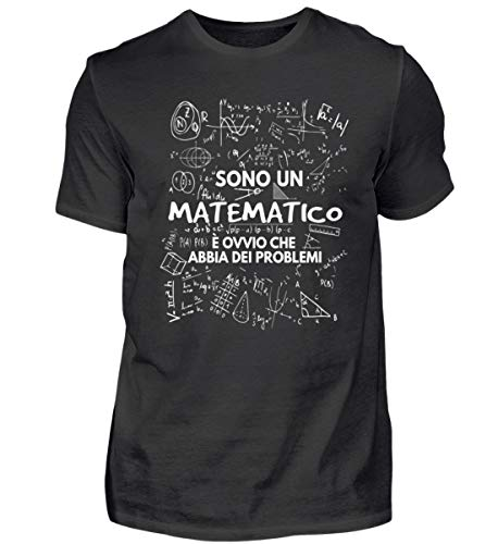 Shirtee Sono Un Matematico - Camicia Biologica Uomo