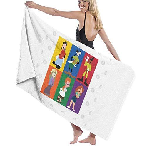U/K Goofy Movie Toalla de baño de secado rápido