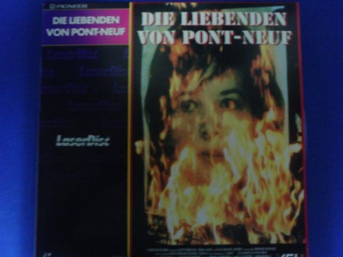 Laserdisc - Die Liebenden von pont-Neuf