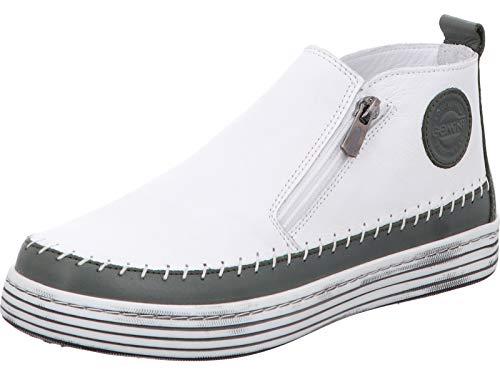Gemini Damen Leder Stiefeletten Boots 342330-02, Größe:39 EU, Farbe:Grün