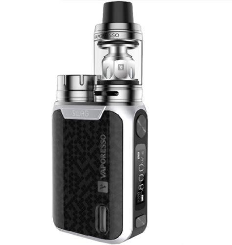 Vaporesso Swag (Plata) 80W TC Kit con NRG SE Mini Tanque 2ml, Este producto no contiene nicotina ni tabaco