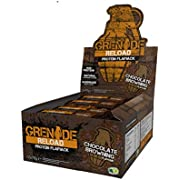 Grenade Reload Protein Flapjacks, 12 x 70 g Bars