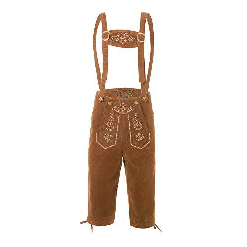 Shujin Herren Trachten Badeshorts Badehose im Lederhosen Style mit Knöpfe Oktoberfest Trachtenbadehose Shorts