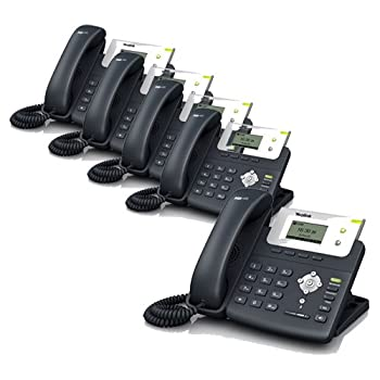 Yealink SIP-T21P 2-Line Corded VoIP Phone  5-Pack