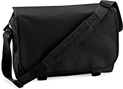 Original Bag Base Messenger Bag / Kuriertasche / Umhängetasche mit Schultergurt und Reissverschlusstaschen in 11 Farben