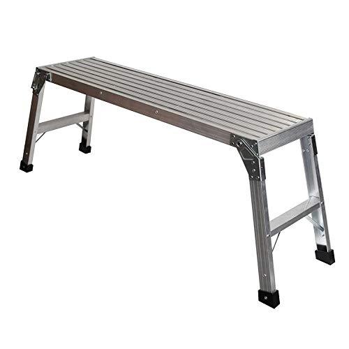 Werner 1.67-ft x 3.75-ft x 12-in 250 lbs.-lb. Aluminum Work Platform