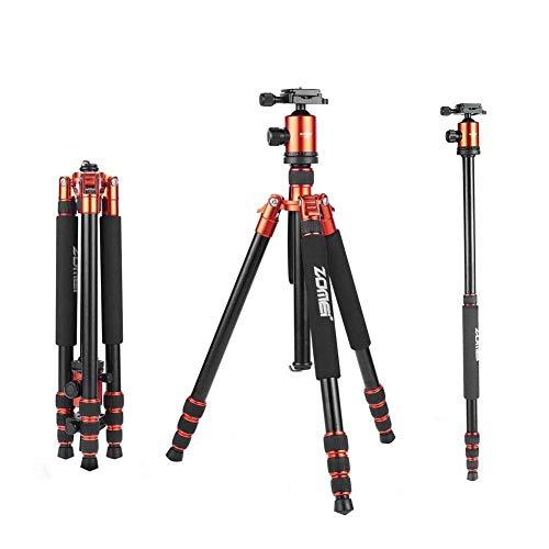 Zomei z818 Fotostativ leichtes tragbares Kamera Stative Aluminium Professionelle reisestativ mit schnellwechselplatte kugelkopf und Tragetasche