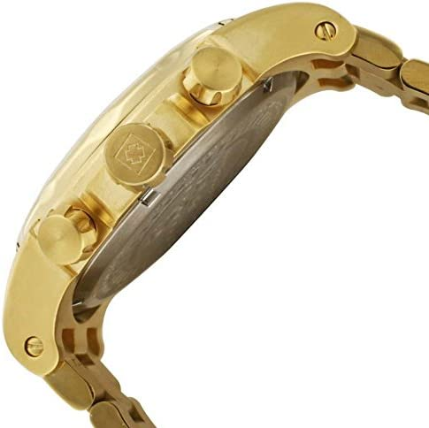Invicta Men's Specialty Gold Tone Stainless Steel Quartz Chronograph Watch, Gold (Model: 1270) WeeklyReviewer