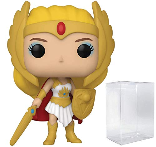 Funko Pop! Animation: Masters of The Universe - Classic She-Ra Vinyl Figure (Bundled with Pop Box Protector Case)