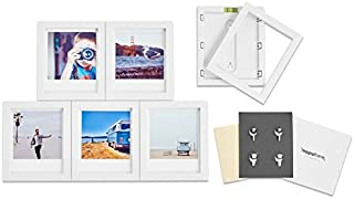 magnaframe Magnetisk ramgalleri – polaroid original – 6-pack – vit