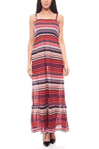 RICK CARDONA Kleid Maxikleid Strickkleid Sommerkleid Bunt by heine, Größenauswahl:42