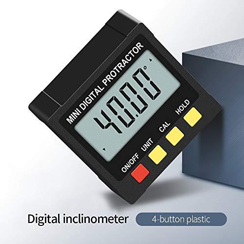 Digitaler Neigungsmesser 360 ° Hochpräzise Messung Nivellierlineal Neigungsmesser Inklinometer Zinklegierung