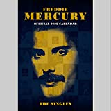 Official Freddie Mercury 2022 Calendar - Month To View A3 Wall Calendar: Original Danilo-Kalender [Mehrsprachig] [Kalender]