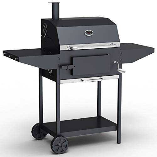 BillyOh Kentucky Smoker BBQ - Charcoal American Grill Outdoor Barbecue (124cm x113cm x 66cm)
