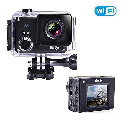 GitUp GIT2P Cámara de acción 2880P HD Video 16 MP Fotos Impermeable WiFi 170...