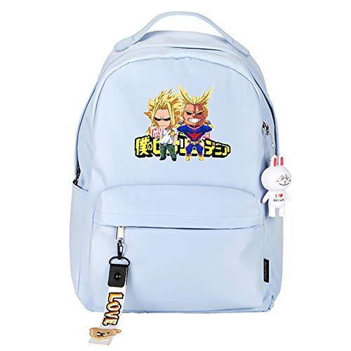 Anime My Hero Academia MHA Deku Printed Cosplay Bookbag Daypack Shoulder Bag Backpack School Bag Casual Backpack Waterproof Student School Bag Laptop Backpack Dapack