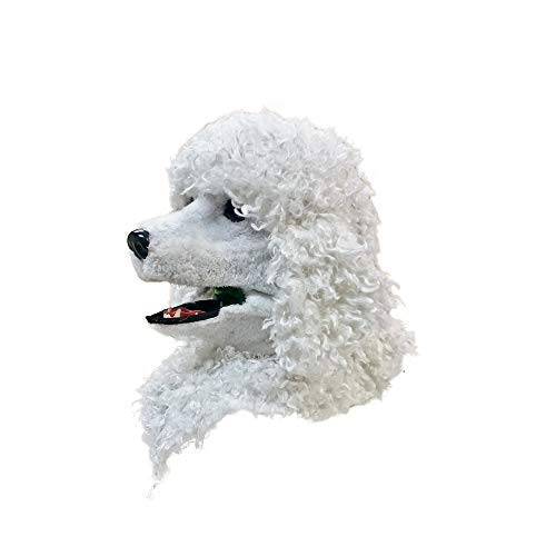 口が連動しリアルに動く!なりきりアニマルムービングマスク!【PoodleDog/プードル】あなたも超ヒューマンな動物キャラに大変身