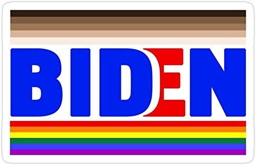 DKISEE Juego de 3 pegatinas de Joe Biden para Presidente 2020 LGBTQ Melanin American Kamala troqueladas para laptop, ventana, coche, parachoques, casco, botella de agua de 4 pulgadas