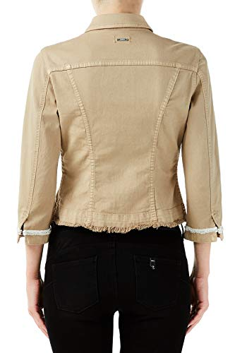 Liu Jo Jeans 1 - jas kleur U9852 beige WA0194T8123