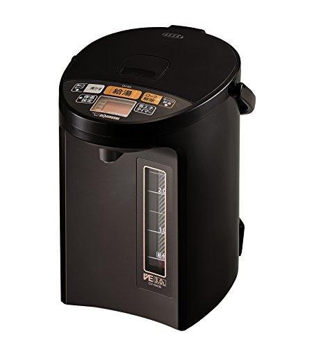 象印 電気ポット 3.0L 優湯生 省エネ ハイグレード 5段階温度設定 ブラウン CV-GA30-TA