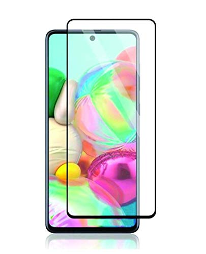 Nishtech® Edge to Edge 11D Tempered Glass Screen Protector for Samsung Galaxy M51 (2020)