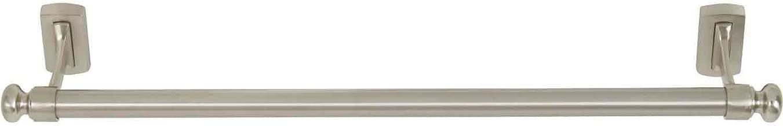 Atlas Homewares LGTB18-BRN Legacy Collection 18-Inch Towel Bar, Brushed Nickel
