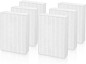 Cabiclean R Filter Replacement for Honeywell HPA300 Air Purifiers, Fits HPA300,HPA090, HPA100, HPA200 Series, HRF-R1 HRF-R2 & HRF-R3, 6 Pack True HEPA Filters