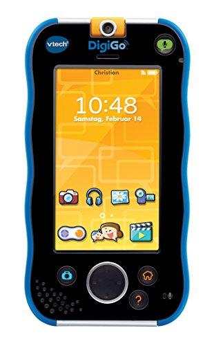VTech DigiGo Multifunctional gadget - electrónica para niños (Multifunctional gadget, MicroSD (TransFlash), Botones, Tocar, Negro, Azul, Polímero de litio, MP3) [Alemania]