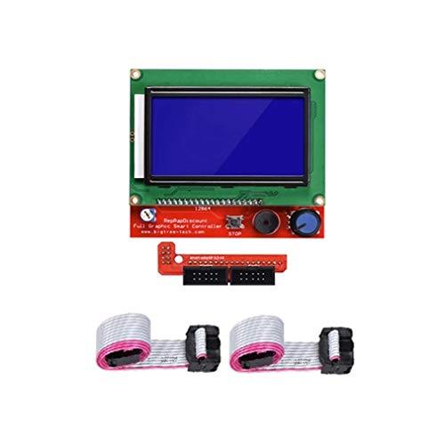DTOYZ Kit De Pièces D'imprimante 3D Reprap 1.4 Rampes m e g a 2560 R3 Chauffage MK2B 12864 Câbles De Contrôleur LCD CH340 pour Imprimante 3D (Color : 39)