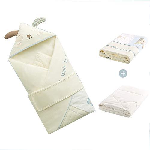 Sacs de couchage for bébé 100% coton for résoudre les soucis du bébé emmaillotage Russell par tapis câlin plaisir afghan maman futon facile à transporter de roulement lavable haute rebond sur support